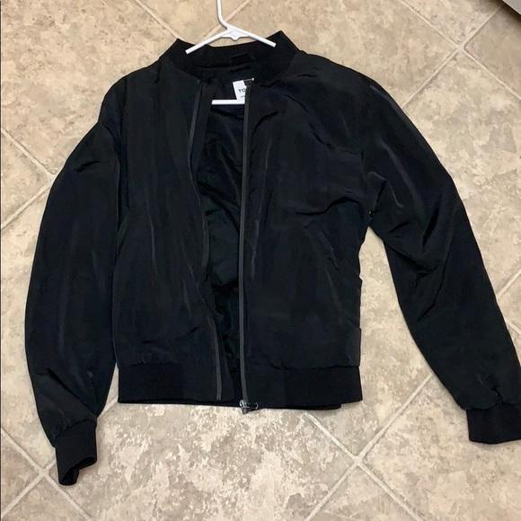 d071fea00 Topman men's size medium black bomber jacket new